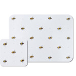 PMBBP01 COBBP01 Busy Bee Placemat & Coaster Cut Out High Res