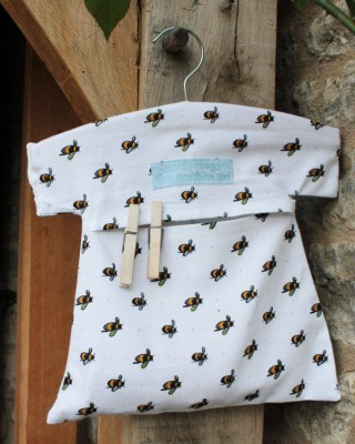 Bee Peg Bag