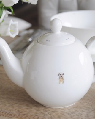 Terrier Tea Pot